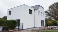 Buitenbepleistering van nieuwbouw te Aalst Tony Boel