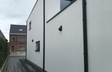Buitenmuren van garage in Aalst bepleisteren? Tony Boel